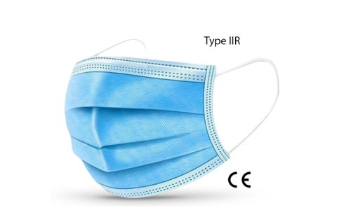 Disposable mondmasker type IIR (EN14683)